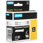 "Dymo Clear Permanent Poly Labels (1/2"")"