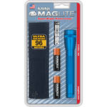 Maglite Mini Maglite 2-Cell AA Flashlight with Holster (Blue)