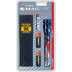 Maglite Mini Maglite 2-Cell AA Flashlight with Holster (Flag)