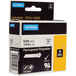 "Dymo White Permanent Poly Labels (1/4"")"