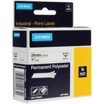 "Dymo White Permanent Poly Labels (1.0"")"
