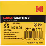 "Kodak 3 x 3"" Neutral Density (ND) #96 0.90 Optical Gelatin Wratten Filter"