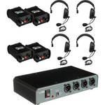 PortaCom COM40FCS 4 Single-Sided Headset Intercom System