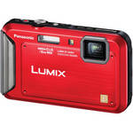 Panasonic Lumix DMC-TS20 Digital Camera (Red)