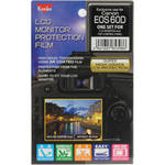 Kenko LCD Monitor Protection Film for the Canon EOS 60D Camera