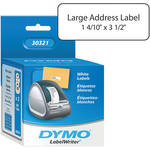 "Dymo LabelWriter Large Address Labels White (1 4/10 x 3 1/2"")"