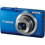 Canon PowerShot A4000 IS Digital Camera (Blue)