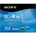 Sony 50GB BD-R Dual Layer Recordable Blu-ray Disc