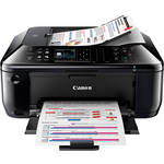 Canon PIXMA MX512 All-in-One Wireless Color Inkjet Office Printer with Photo Paper
