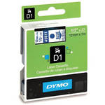 "Dymo Standard D1 Labels (Blue Print, Clear Tape - 1/2"" x 23')"