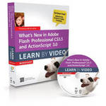 Pearson Education Book & DVD: What's New in Adobe Flash Professional CS5.5 and ActionScript 3.0: Learn by Video (1st Edition)