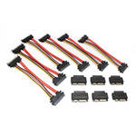 Aleratec MicroSATA to SATA Adapter Cable (6-Pack)