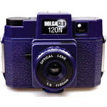 Holga HolgaGlo 120N Glows in the Dark Camera (Ultra Violet)
