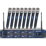 VocoPro UHF-8800 - 8 Channel UHF Wireless Microphone System
