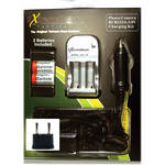 ExtremeBeam CR123A Battery Charging Kit with 2 Rechargeable Li-ion Batteries