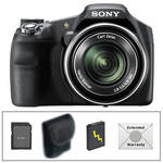 Sony Cyber-shot DSC-HX200V Digital Camera with Deluxe Accessory Kit