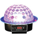 RSQ Audio Sound Activated RGB Color LED Mirror Ball