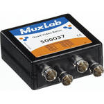MuxLab Quad Video Balun with BNC Connectors