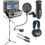 M-Audio Fast Track Home Recording Starter Kit