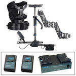 Steadicam Zephyr Camera Stabilizer (AB Mount, Vest), 2 Batteries and Charger Kit