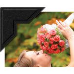 "University Products 0.5"" Self-Adhesive Photo Corners (Pack of 252, Black)"