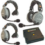 Eartec COMSTAR XT 3-User Full Duplex Wireless Intercom System