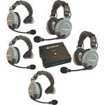 Eartec COMSTAR XT 5-User Full Duplex Wireless Intercom System
