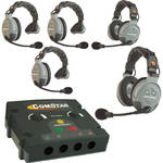 Eartec COMSTAR Flex Max Series 5-User Full Duplex Intercom System