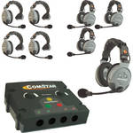 Eartec COMSTAR Flex Max Series 8-User Full Duplex Intercom System