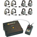 Eartec XT-Plus Com-Center with Interface and 8 COMSTAR Headsets