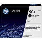 HP 90A Black LaserJet Toner Cartridge with Smart Printing Technology