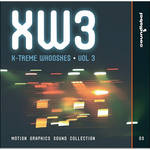 Sound Ideas X-treme Whooshes 3 Production Elements and Sound Effects Library (Download)
