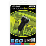 Xtreme Cables Dual Port USB Car Charger (2100 mAh)