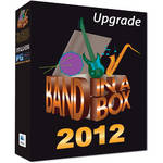 PG Music BAND-IN-BOX 2012 ULT+ PK-UP/CGD-MAC HD