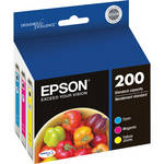 Epson T200 Multi-Pack Color DURABrite Ultra Ink Cartridges