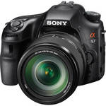 Sony Alpha SLT-A57 DSLR Digital Camera with 18-135mm Lens