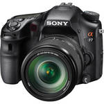 Sony Alpha a77 DSLR Camera with 18-135mm Lens