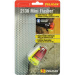 Pelican Mini Flasher 2130 Dive Light 2 'coin cell' LED (Yellow)
