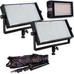 Flolight MicroBeam 1 - 128 / 2 - 512 Standard 3 Light LED Kit with Carrying Bags