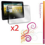 rooCASE 2-Pack Anti-Glare Screen Protector for Acer Iconia Tab A200 A210