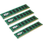 Crucial 32GB (8GB x 4) 240-Pin DIMM DDR3 PC3-10600 ECC Memory Module Kit