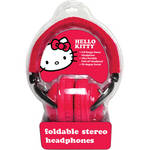 Sakar Hello Kitty Foldable Headphones