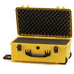 HPRC 2550 Wheeled Hard Case with Cubed Foam Interior (Yellow)