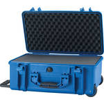 HPRC 2550 Wheeled Hard Case with Cubed Foam Interior (Blue)