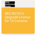 Sony IMZ-NS101U Upgrade License for 16 Cameras