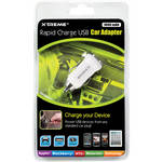 Xtreme Cables Rapid Charge USB Car Adapter (White)