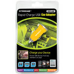 Xtreme Cables Rapid Charge USB Car Adapter (Yellow)