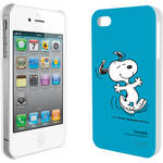 iLuv Snoopy Character Series - Hardshell Case for iPhone 4S / 4 (Blue)