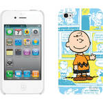 iLuv Snoopy Cartoon Series - Hardshell Case for iPhone 4S / 4 (Blue)