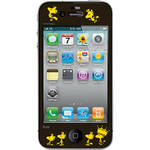 iLuv Snoopy Deco Film - Protective Film With Peanuts Design for iPhone 4S / 4 (Black)